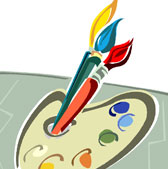 Enjoy Art Paintbrush Image