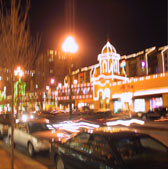 Kansas City Country Club Plaza Night Lights for fun shopping
