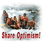 Work together to share optimism