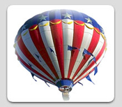 Patriotic Optimistic Balloon