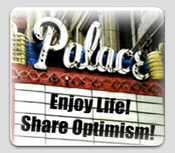 Enjoy Life and Share Optimism Marquee
